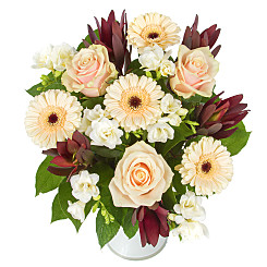 Flower bouquet Peachy Perfect