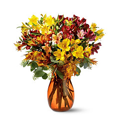 Flower bouquet 50 Blooms of Alstroemeria