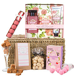Gift delivery Rose Petal Relaxation Hamper