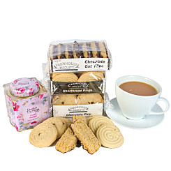 Gift delivery Tea and Biscuits