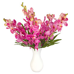 Flower bouquet Pink Mokara Orchids