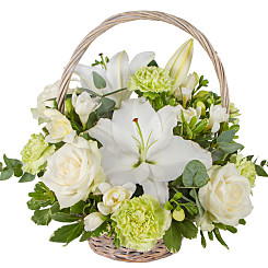 Flower bouquet Woodland Basket