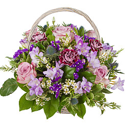 Flower bouquet Remembrance Basket