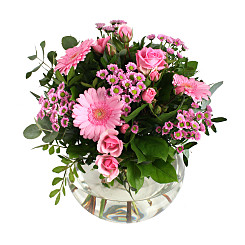 Flower bouquet Pink Purity