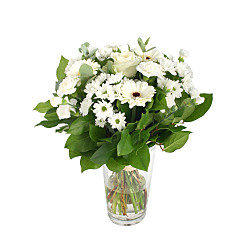 Flower bouquet Heavenly White
