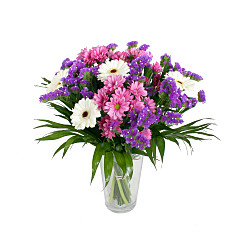 Flower bouquet Purple Blaze