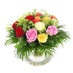 Flower bouquet Neapolitan