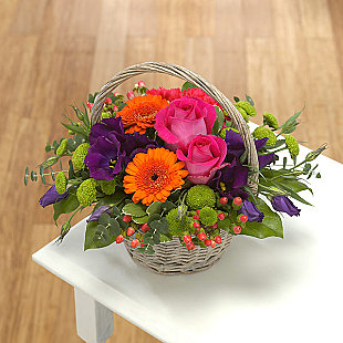 Flower bouquet Basket Arrangement
