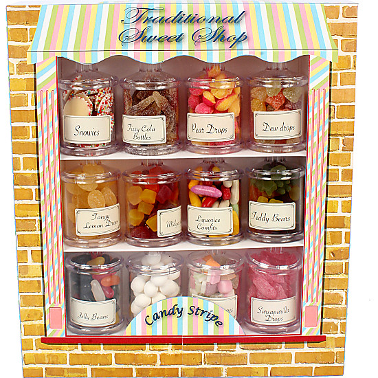 12 Mini Sweet Jars