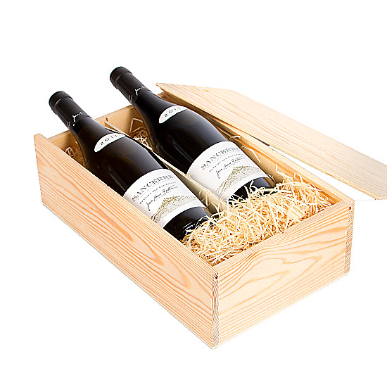 Serenata Flowers Sancerre Gift Box - Red and White Picture
