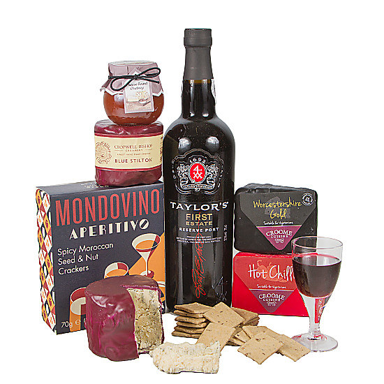 Serenata Flowers Port and Cheese Selection Picture