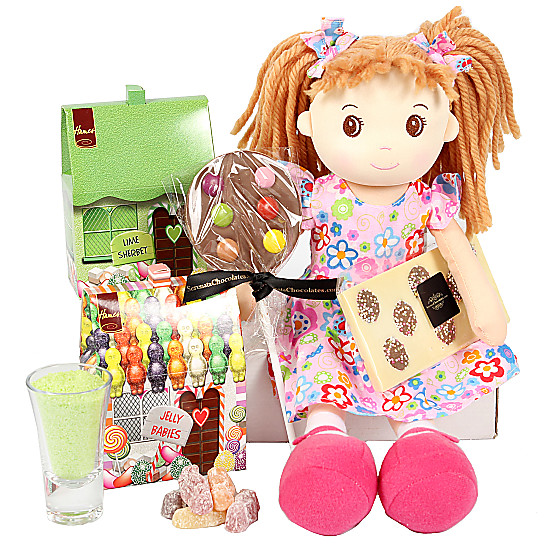 Serenata Flowers Sweet Rag Doll Gift Box Picture