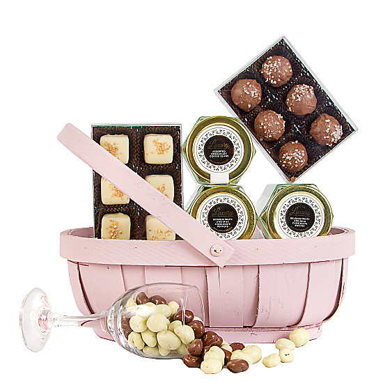 Serenata Flowers Cherish Chocolate Trug Picture