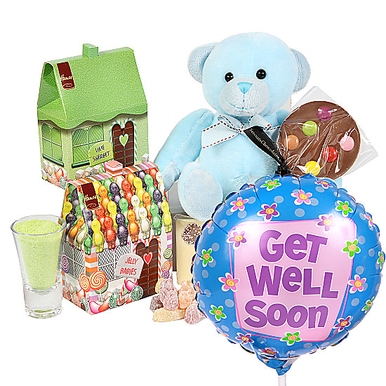 Serenata Flowers Boys Get Well Gift Box Picture