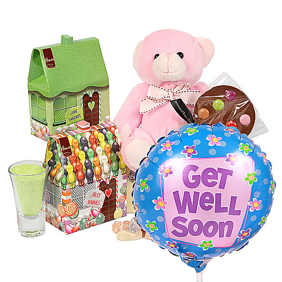 Serenata Flowers Girls Get Well Girls Box Picture