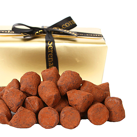 Salted Toffee French Dusted Truffles