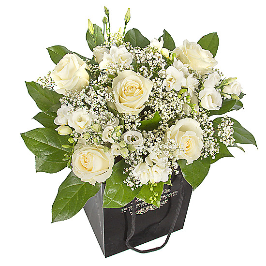 Serenata Flowers Pure Love Gift Bag Picture