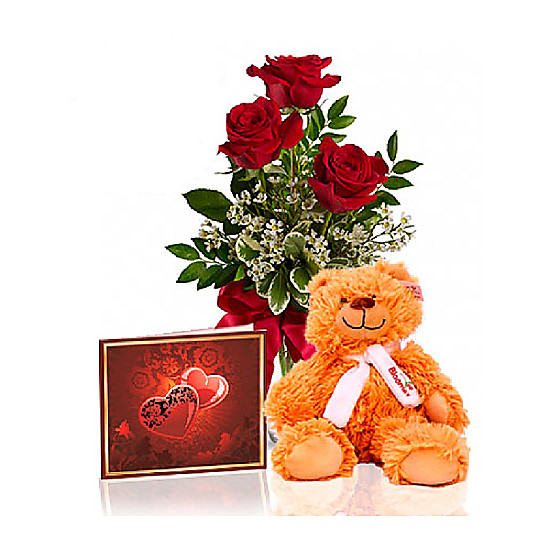 Roses and Teddy Special