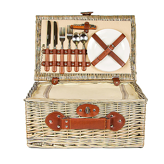 Serenata Flowers Small Picnic Hamper Picture