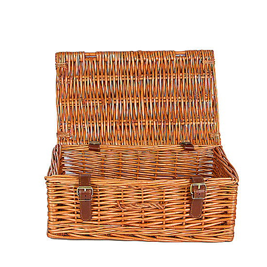 Serenata Flowers Small Wicker Hamper Picture