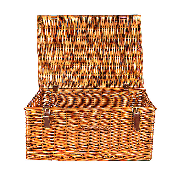 Serenata Flowers Large Wicker Hamper Picture