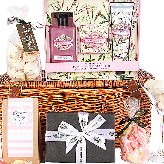 White Jasmine Relaxation Hamper