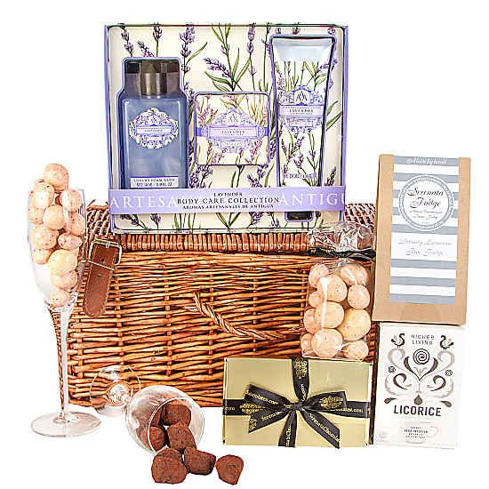 Serenata Flowers Lavender Relaxation Hamper Picture