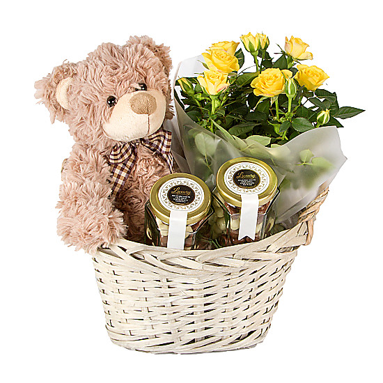 Serenata Flowers Happy Days Gift Basket Picture