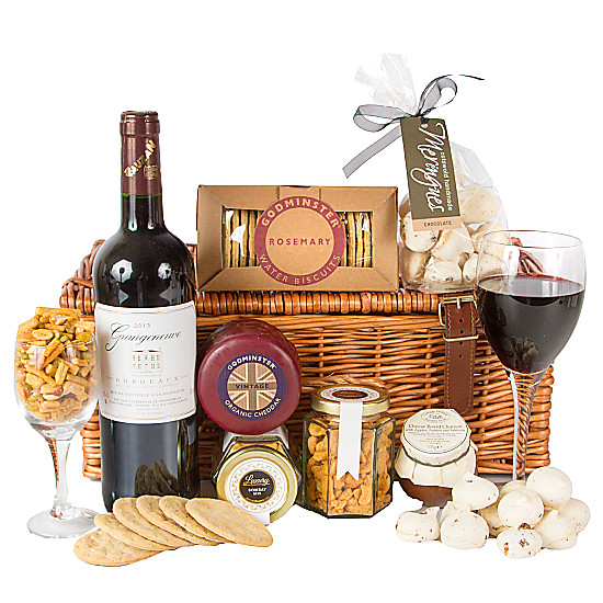 Serenata Flowers Bordeaux Gourmet Gift Box Picture