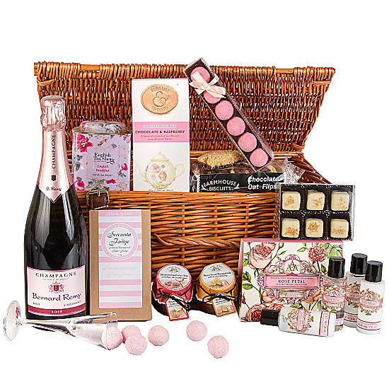 Serenata Flowers My English Rose Hamper Picture