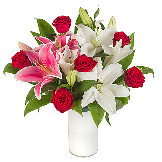 Serenata Flowers Classic Rose and Lily Picture