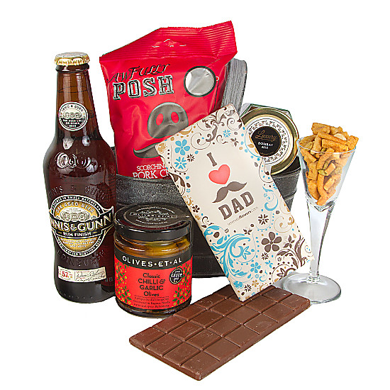 Serenata Flowers Dads Beer Hamper Picture