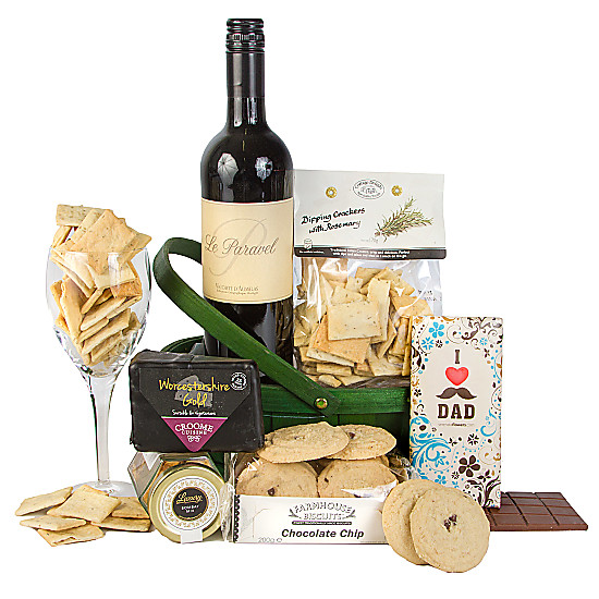 Serenata Flowers Dads Wine Hamper Picture