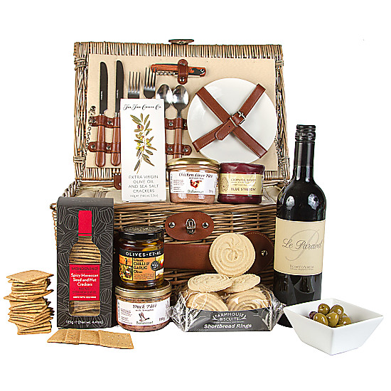 Serenata Flowers Pate Picnic Hamper Picture