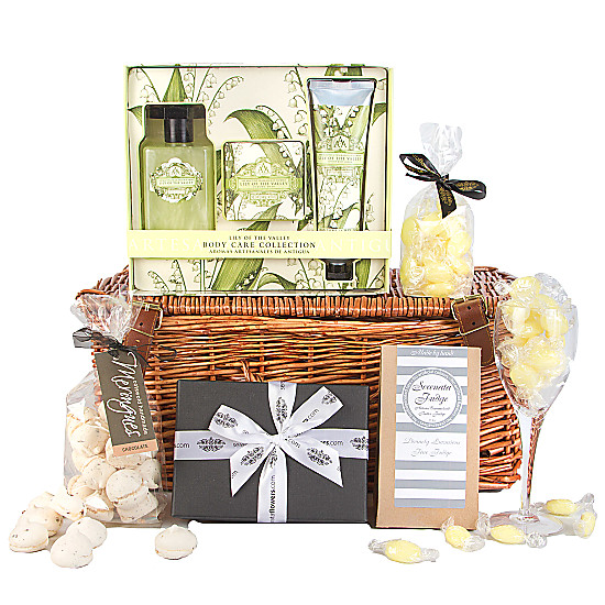 Serenata Flowers Lily of the Valley Relaxation Hamper Picture