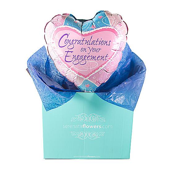 Serenata Flowers Engagement Balloon Gift Picture