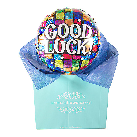 Serenata Flowers Good Luck Balloon Gift Picture