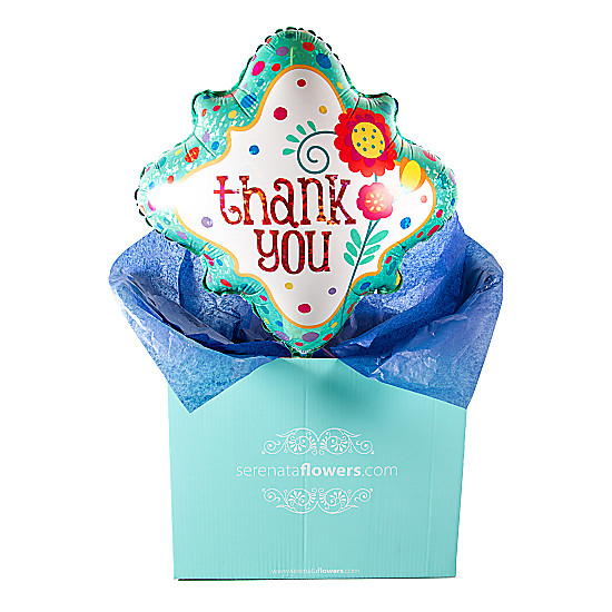 Serenata Flowers Thank You Balloon Gift Picture