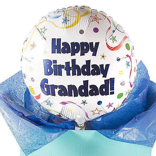 Happy Birthday Grandad Balloon Gift