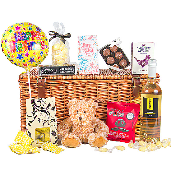 Serenata Flowers Birthday Indulgence Hamper Picture