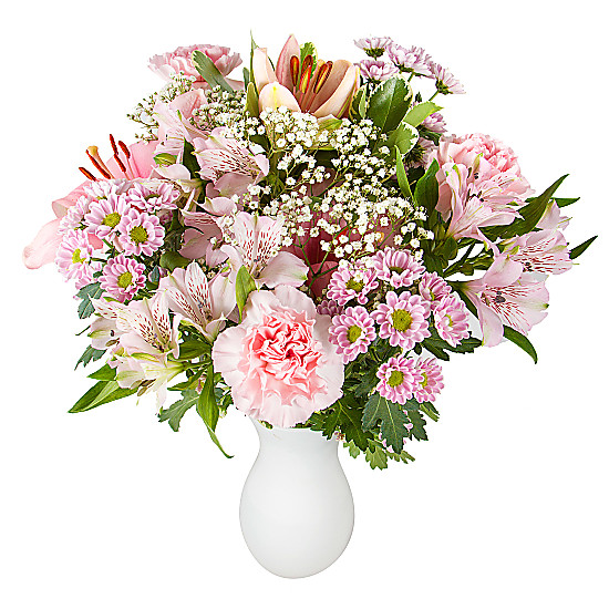 Serenata Flowers Pink Letterbox Flowers Picture