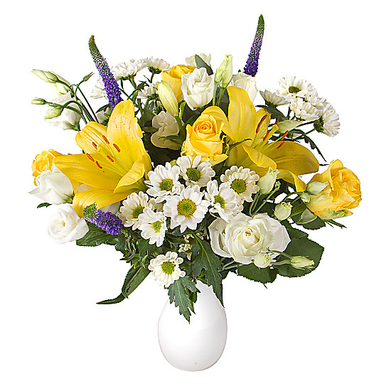 Serenata Flowers Yellow Letterbox Flowers Picture
