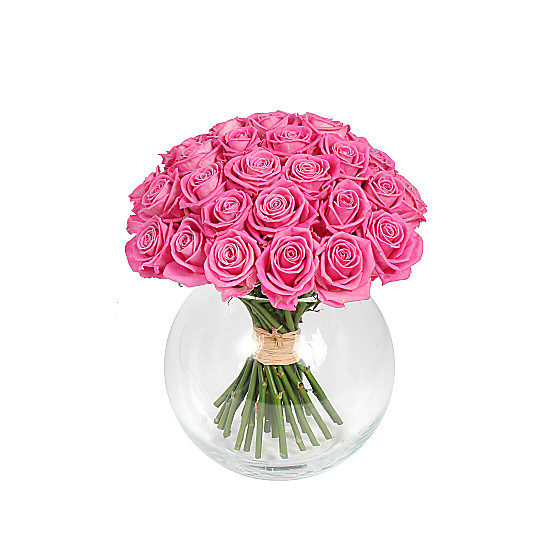 Serenata Flowers Mass of Pink Roses Picture