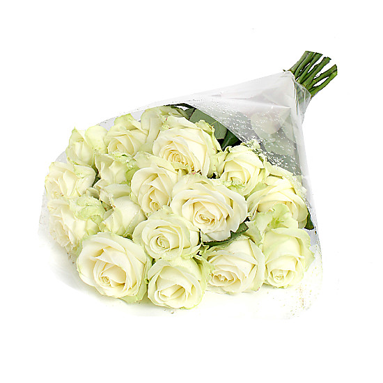 Serenata Flowers 20 Luxury White Roses Picture