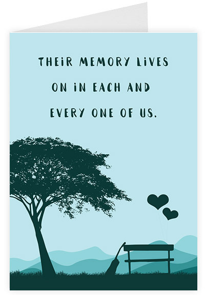 Their memory lives