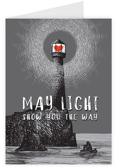 May light show you the way