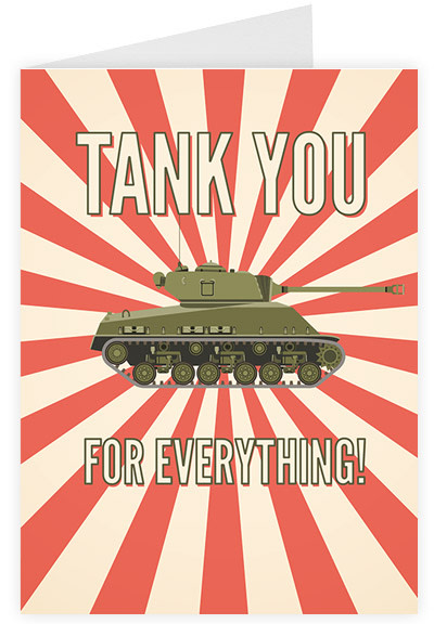 Tank you for everything
