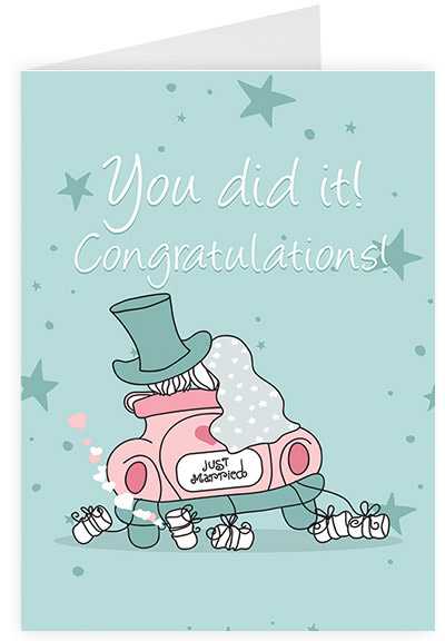 You did it - Congratulations