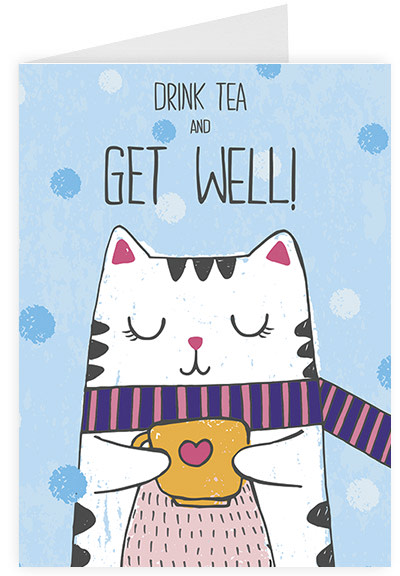 Drink tea and get well