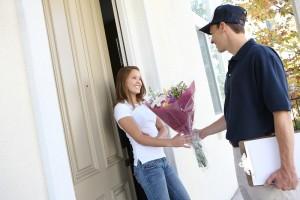 Magnifiques fleurs livrées à domicile